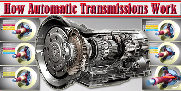 Planetary Gear Set >> How Automatic Transmissions Work Pictures/Video Animation 2016